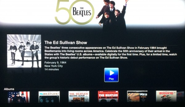 "Inside ""The Beatles"" channel on Apple TV"