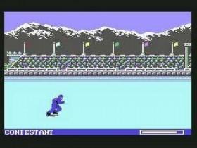 Barrell Jump - Winter Games