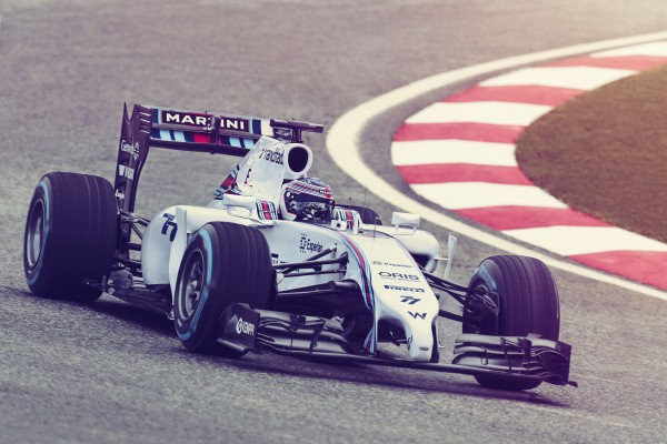 The 2014 Williams Martini Racing F1 Car