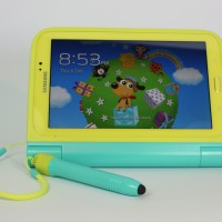 Samsung Galaxy Tab Kids in the optional tough-case