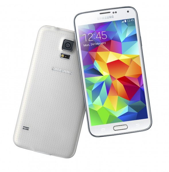 Samsung GALAXY S5 Shimmery White 2