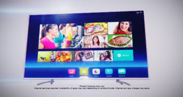 "New-Look ""Vision TV"" interface for Hisense TVs in 2014"