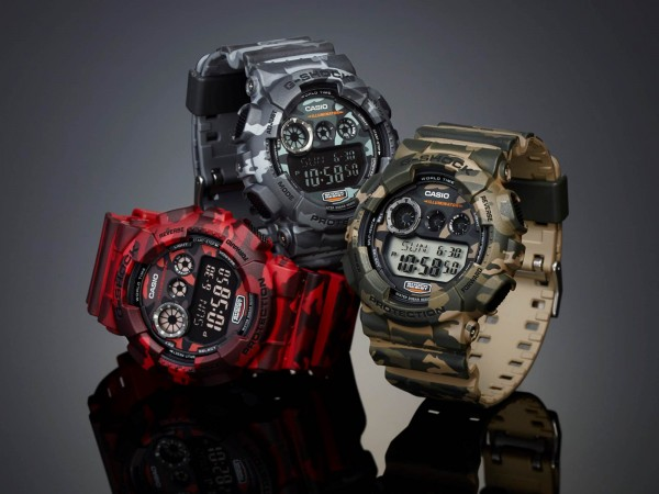Casio GD120 Camouflage series