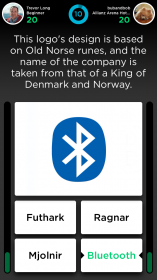 Quiz Up - Flashcard quiz (Logos)