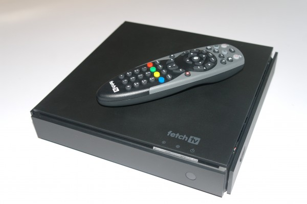 Fetch TV box and remote