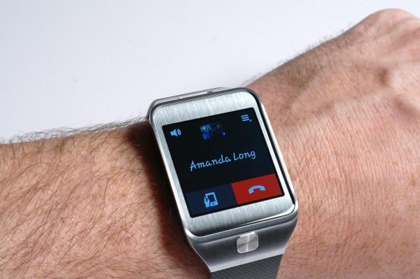 Samsung Gear 2 - Making a call