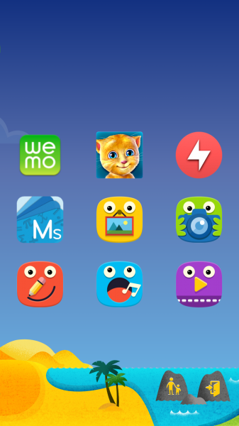 Android Kids Mode (Samsung Galaxy S5)