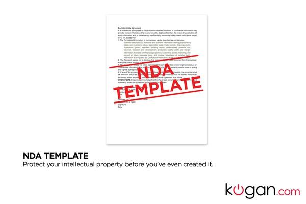 Entrepreneur Startup Kit - with NDA Template