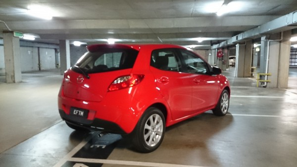 "Mazda 2 Maxx - complete with rear ""spoiler"""