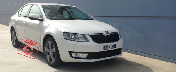 A Credit rubber-stamp for the Octavia