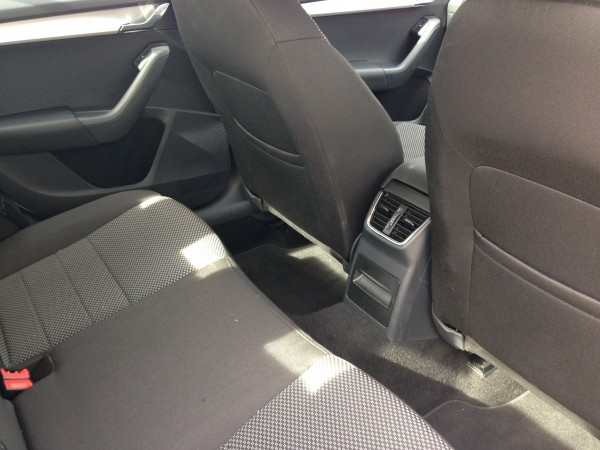 Rear seats are ample for a full 5 seat occupancy