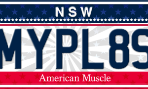 Looking for new plates for your American muscle car?  MyPlates has you covered