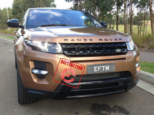 The Evoque earns the EFTM Distinction rubber stamp