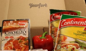 Your Fork – delivering ingredients for a home cooked meal