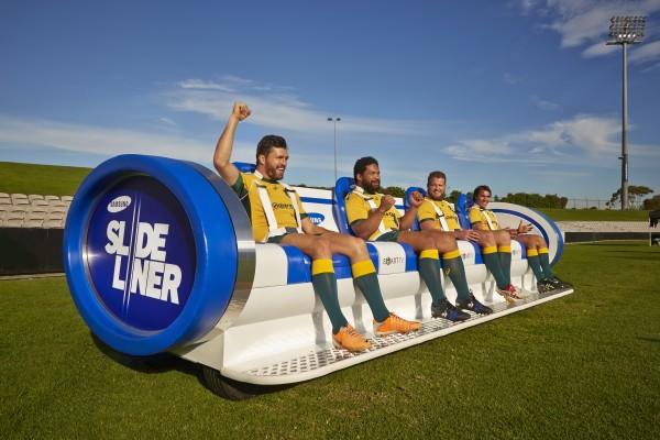 Samsung SlideLiner & Wallabies