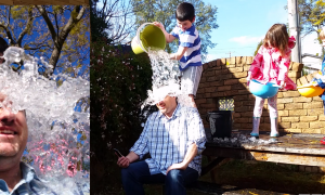"Taking the ""Ice Bucket Challenge"" for the Motor Neurone Disease Association of NSW"
