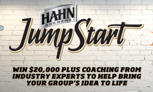 Got an idea?  Want $20,000 – Tell Hahn, they're giving it away
