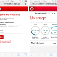 Checking your mobile data usage just got easier with My Vodafone