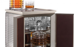 Nothing to see here… Just a $20,000 desktop bar for Dad