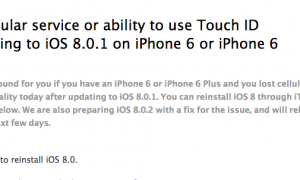 How to fix your phone after the failed iOS 8.01 upgrade