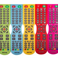 Soniq goes colourful on its remote controls