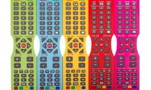 Soniq goes colourful on its remote controls
