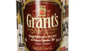 A nice retro bottle and a classic drop – ideal last minute Father's Day gift from Grant's