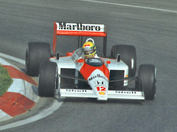Ayrton Senna - 1988 - McLaren (Photo:Paul Lannuier)