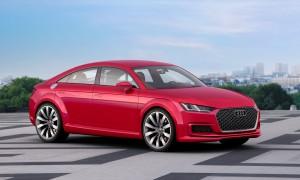 Paris Motor Show: Audi TT Sportback concept
