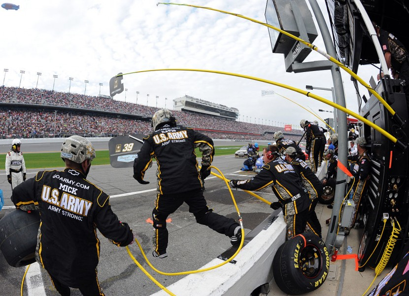 """The U.S. Army - Daytona 500"" by The U.S. Army"