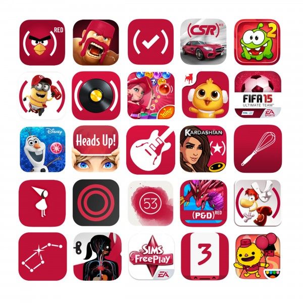 Final (RED) App Icons