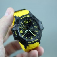 Brighten things up with some Yellow on your G-Shock – GA1000-9B review