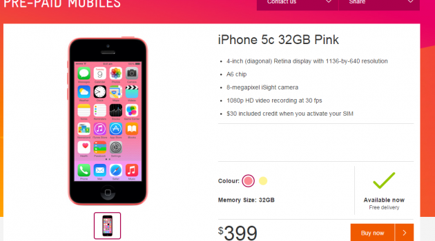 An iPhone for Christmas – a cracking good deal from Telstra