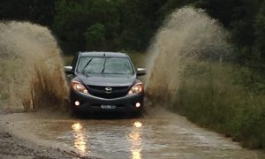 Putting the MAZDA BT-50 XTR to the test, beach, water & camping