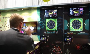 Darts – at the Consumer Electronics Show.  Taking the old game high-tech