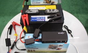 Jump Start your car with your mobile phone battery pack!