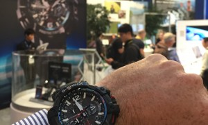 Whats inside your G-Shock GPW1000? An insight at the CASIO stand at CES 2015