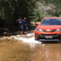 Taking the Toyota RAV4 Cruiser camping