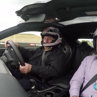 F1 World Champion Alan Jones takes Greg Rust on a Hot Lap of Mount Panorama in a Lexus RC F