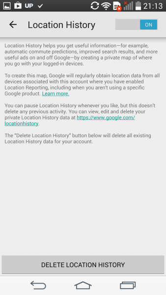 ANDROID-LOCATIONHISTORY-ON