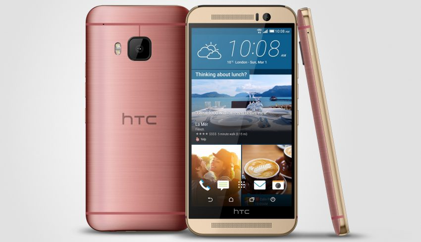 HTC One M9_Pink_3V