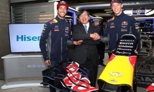 Hisense steps up sport and motorsport partnership, inking a new deal with Infiniti Red Bull Racing