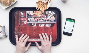 The Easy Way to Text and Eat KFC