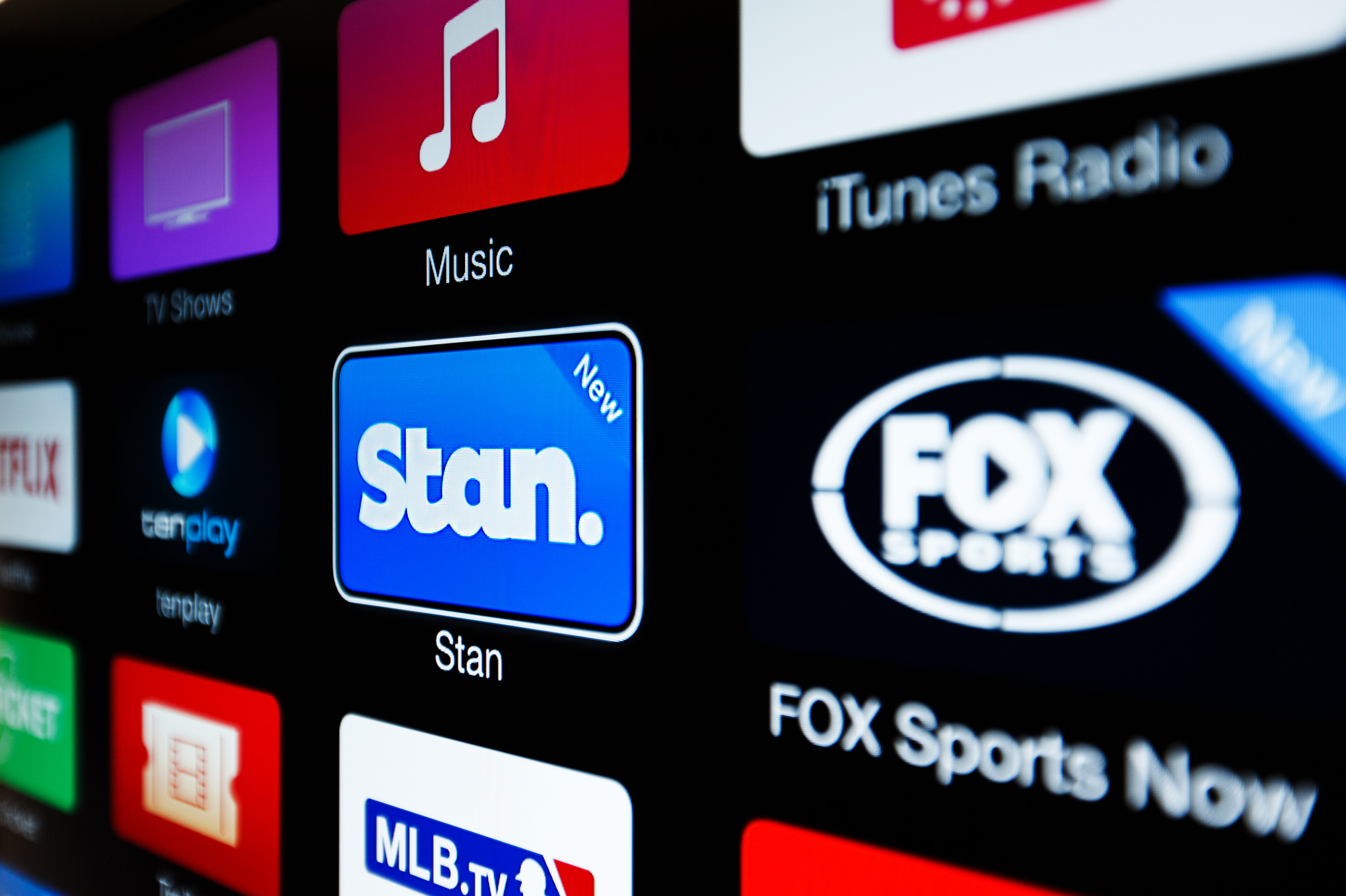 Another Aussie app for your Apple TV - Stan streaming video