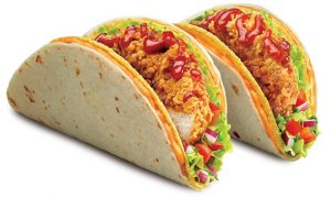 Is that a Zinger in your Taco?  KFC mixes it up with limited edition taco