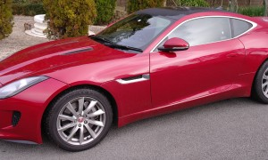 Loving life in the Jaguar F-Type Coupe V6