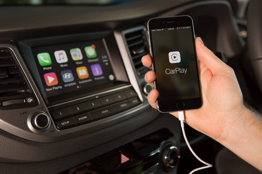 Tucson - Apple CarPlay - 001