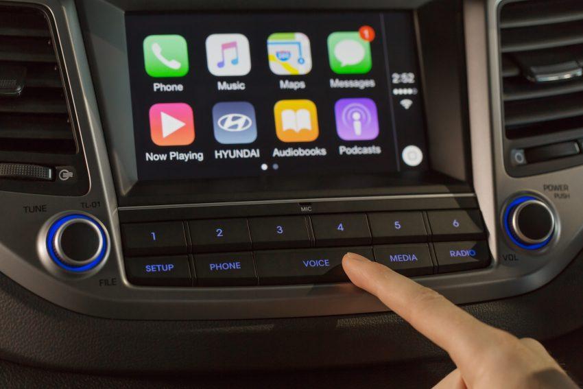 Tucson - Apple CarPlay - 004