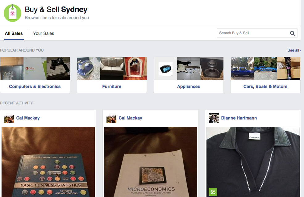 How Facebook Plans To Take On Ebay With An Online Buy Swap And Sell Marketplace Eftm