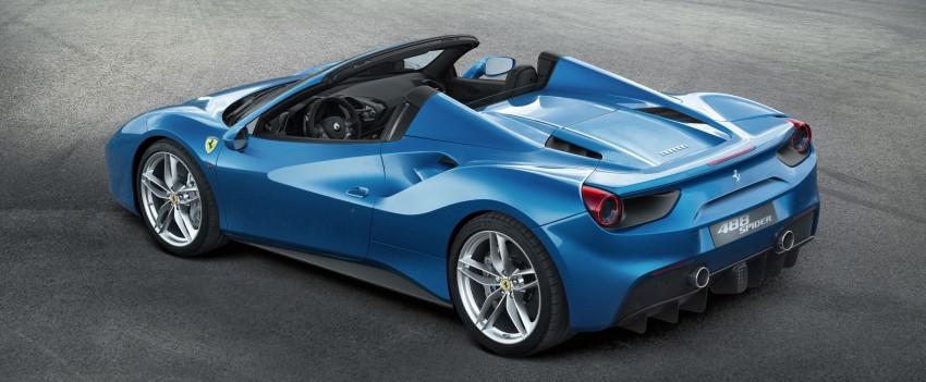 150727 Ferrari488gtb Spider 3 4postaperto